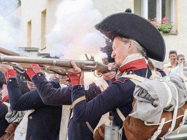 Bitva u Staré pošty v Klenčí.