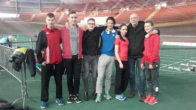 Atleti z Domažlic testovali formu na mítinku ve Vídni.