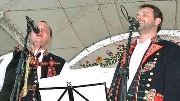 Domažličtí Laueráti Strážnice 2007 Josef Kuneš a Kamil Jindřich
