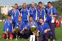 Hasiči z Horní Kamenice na republikovém mistrovství v Ústí nad Labem.