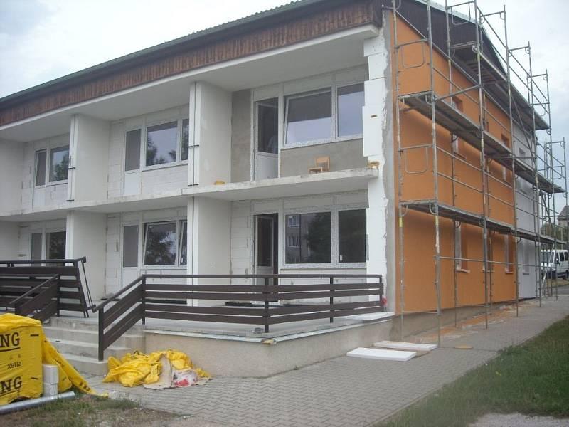Zateplení MŠ Horšovský Týn ve Vančurově ulici.