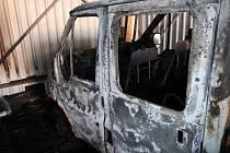 Požár techniky ve Kdyni způsobil škodu 3 miliony.