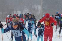 V Caparticích se uskutečnil 98. ročník lyžařského závodu Chodské 30