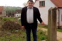 Starosta Luženic František Kopecký