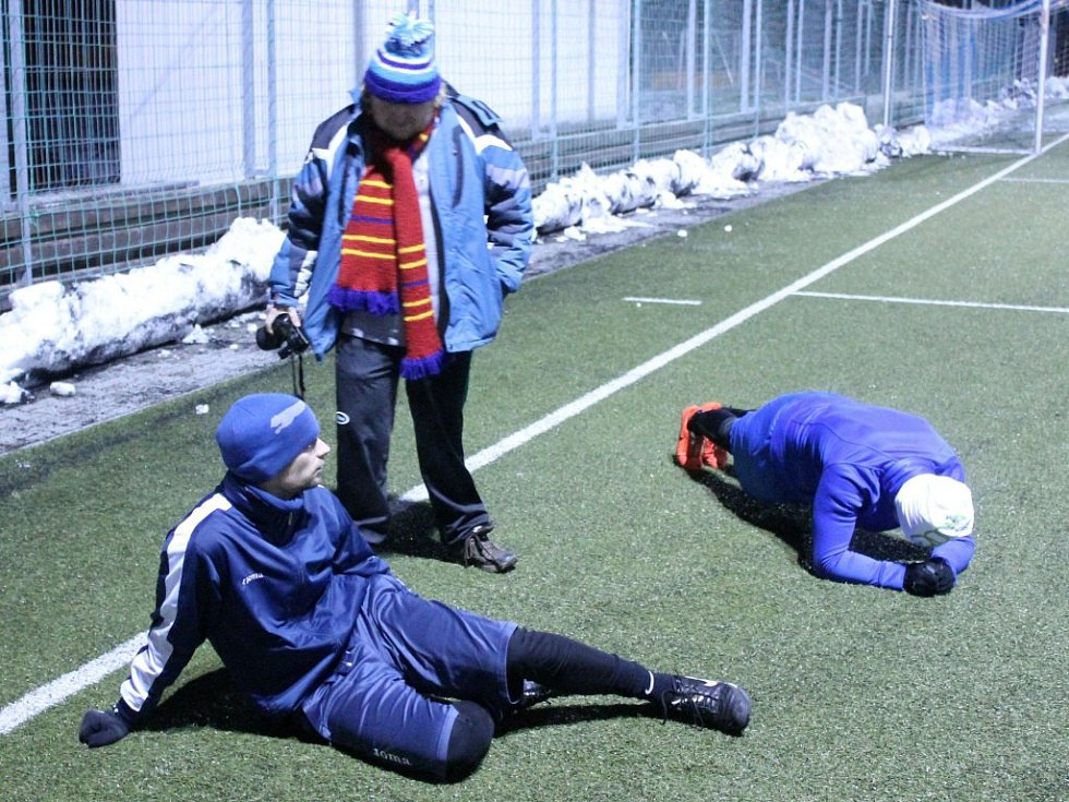 Na Střelnici začala zimní příprava obou mužstev Jiskry.