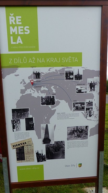 Z Cyrilometodějské mše a zahájení výstavy v Dílích.