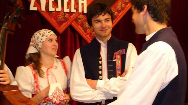 Ze soutěže v Kyjově.