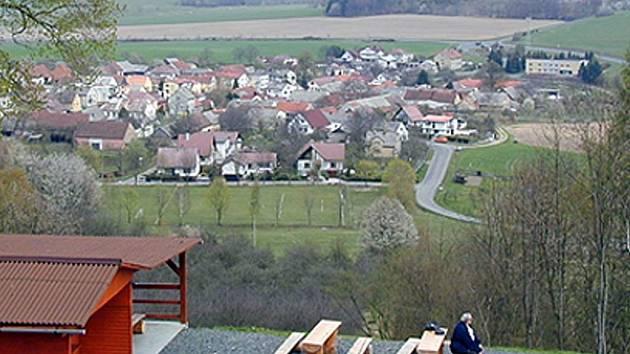 Pohled z Hrádku