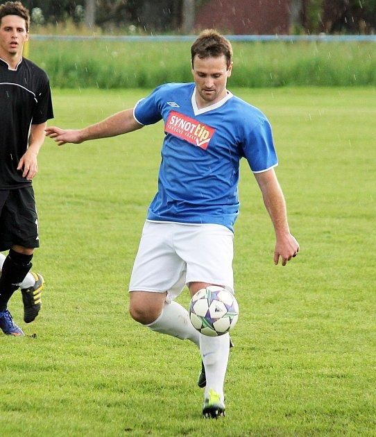 Fotbalista Ondřej Janka.