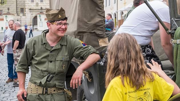 Oslavy osvobození v Horšovském Týně.