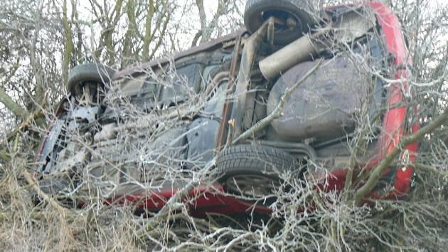 Nehoda u Mířkova.