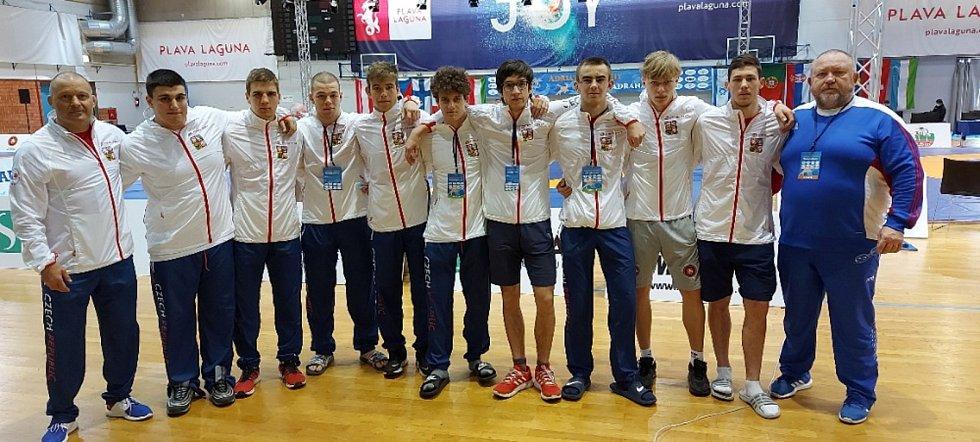 Česká reprezentační minivýprava na Trophy Adriatic 2021 v Poreči.