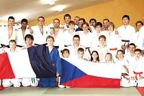 Součástí návštěvy judistů z Ludres v Domažlicích bylo i přátelské utkání v judu.