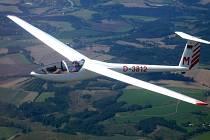 Letadlo bez motoru.