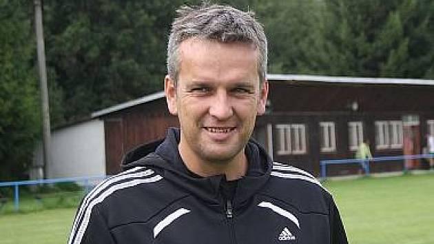 Trenér Michal Čadek.