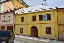 Dům v Branské s číslem 5.