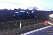 Dopravní nehoda u Holýšova.