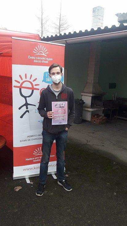 Náborová akce na pomoc osmatřicetiletému Stanislavu Pielovi z Malesic, který onemocněl akutní leukémii.