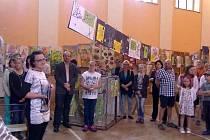 Závěrečná výstava ZUŠ Staňkov.