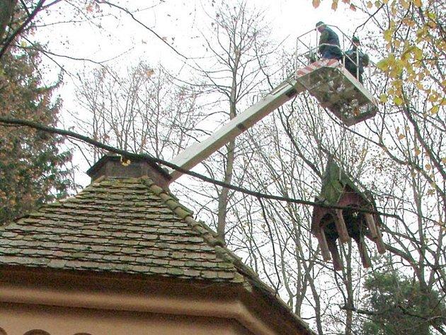 Oprava kaple Sv. Anny