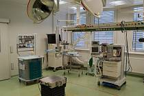 Z operačního sálu Domažlické nemocnice.