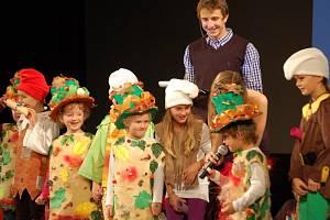 Zahájení 5. ročníku Juniorfestu v Horšovském Týně.