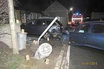 Dopravní nehoda v Meclově