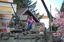 Vzpomínková slavnost - Oslavy osvobození v Bělé nad Radbuzou.