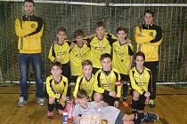 Mladší žáci FC Dynamo H. Týn obsadili na turnaji v Tachově druhé místo za Spartou Praha.