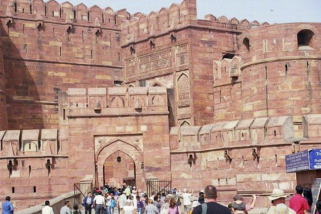 Červená pevnost v Dillí.