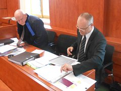 Michal Kravec u soudu.