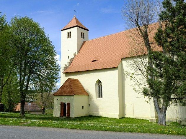 Kostel v Bukovci.