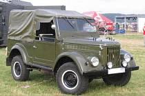 Terénní vůz GAZ.