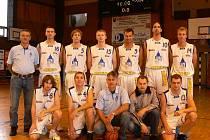 MUŽI JISKRY DOMAŽLICE. Během víkendu domažličtí basketbalisté zaznamenali dvě výhry proti Bak Plzeň a dalšímu týmu z Rokycan.
