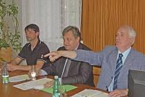 Jan Löffelmann, Vladislav Vilímec a Jan Zelenka.