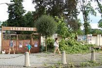 SPOUŠŤ. Zásadní zlom přinesla vichřice v srpnu 2013.