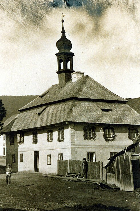 Bývalá radnice.