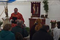 Pouť ke cti svaté Barbory na Železné v sobotu 4. prosince.