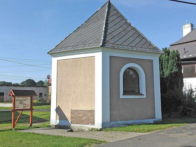 Kaple Vojtěška se zázračnou vodou.