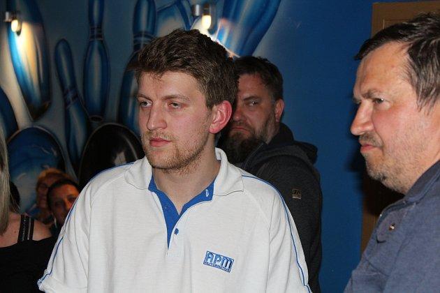 Dominik Stróž zAPM dosáhl ve druhém kole nadstavbové části DBL nejvyšší individuální nához 367kuželek.