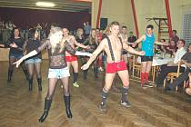 Sportovní ples v Třebnicích.