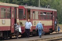Lokálka bude vozit cestující na trati Domažlice-Klatovy se slevou do konce října.