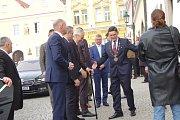 Návštěva prezidenta ČR Miloše Zemana v Horšovském Týně