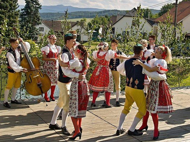Oslavy výročí obce Loučim.