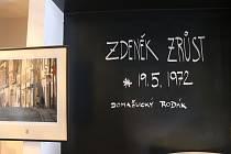 Vernisáž fotografií Zdeňka Zrůsta.