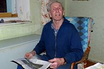 Jan Hrubý si s námi zavzpomínal na léta vojny.