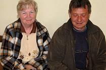 Svatava Burešová a Eduard Schneider