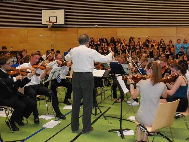 Koncert ve Schwandorfu.