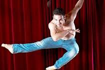 Pavel Wolf, tanečník a domažlický rodák.