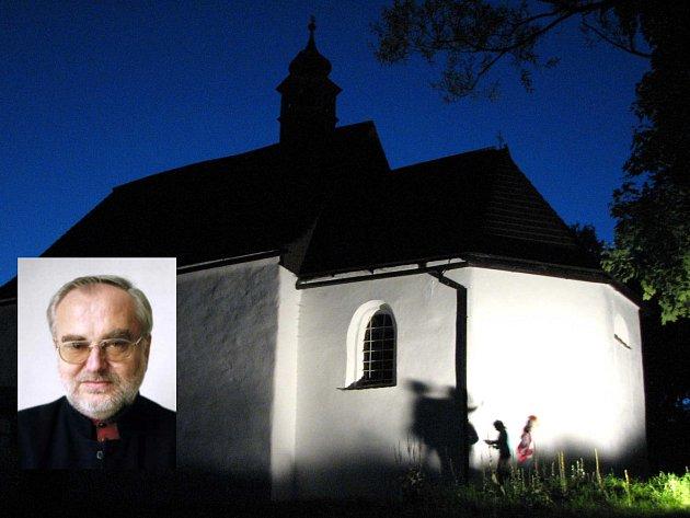 František Drs bude opět řídit Rybovu mši v památném kostelíku v Brůdku.
